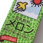 豆乳飲料メロン