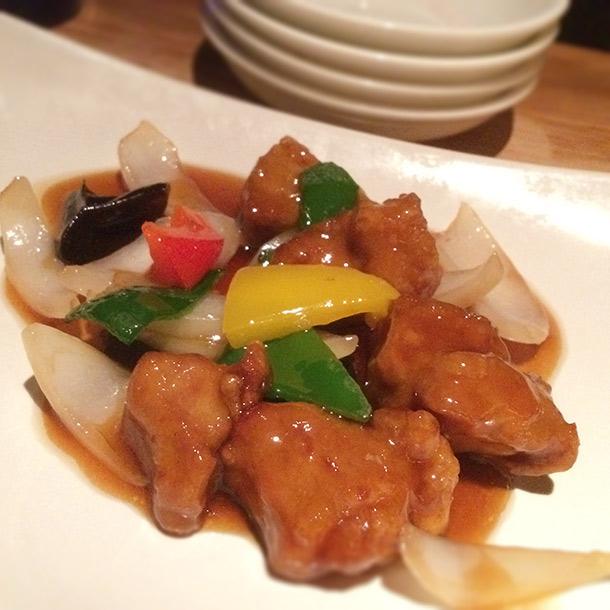 豚ヒレ黒酢酢豚