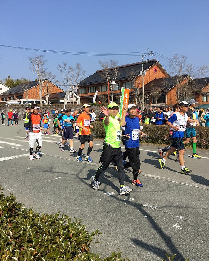 あんずの丘マラソン